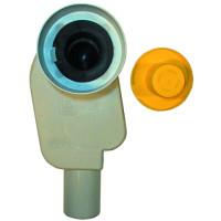 Сифон для раковины HL HL134/50 встраиваемый, слив DN50, впуск 32