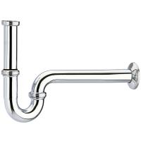 Сифон для раковины Hansgrohe трубчатый, хром 53010000