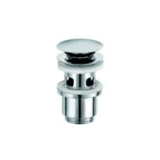 Донный клапан Kludi 1042405-00 для раковин с переливом, хром