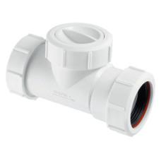Обратный клапан McAlpine S28-NRV-32 для установки на трубу 32мм канализационный обратный клапан для системы канализации, клапан для трубы