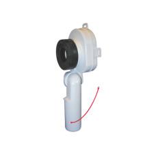 Сифон для писсуара HL HL430-1L Сифон для писсуара, с поворотным отводом DN50