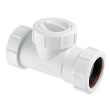 Обратный клапан McAlpine Z2850-NRV для установки на трубу 40мм канализационный обратный клапан для системы канализации, клапан для трубы