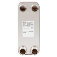 Пластинчатый теплообменник Danfoss XB 12M-1 004H7543 паяный 26 пластин