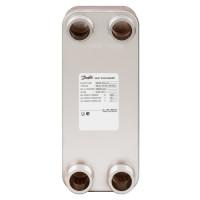 Пластинчатый теплообменник Danfoss XB 12H-1 004H7555 паяный 10 пластин