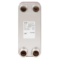 Пластинчатый теплообменник Danfoss XB 12H-1 004H7556 паяный 16 пластин