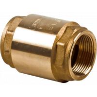 Клапан обратный NRV EF Danfoss 065B8224 пружинный, муфтовый, ДУ 15, 1/2, Kvs=4, латунь