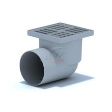 Трап для душа АНИ пласт TA5110 трап горизонтальный, пластиковый, нерегулируемый, 150х150