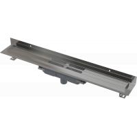 Душевые лотки APZ1116-650 низкий, вертикальный, для решетки 650мм, пристенный