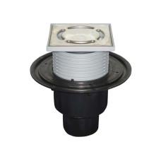 Трап HL HL310NPr с сухим затвором, вертикальный, для труб канализации 50/75/110мм