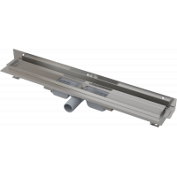 Alcaplast APZ104 Flexible Low 850 Душевой лоток регулируемый, пристенный, низкий, дляна 850мм