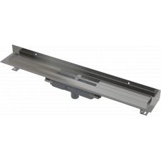 Душевые лотки APZ1116-1050 низкий, вертикальный, для решетки 1050мм, пристенный