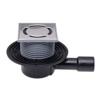 Трап HL HL510N душевой, горизонтальный, с решеткой, для труб канализации 40/50мм
